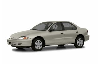 3/4 Front Glamour 2002 Chevrolet Cavalier