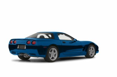 3/4 Rear Glamour  2002 Chevrolet Corvette