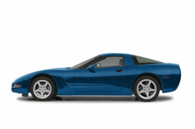 90 Degree Profile 2002 Chevrolet Corvette