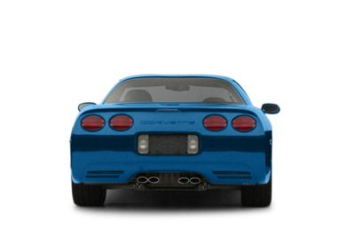 Rear Profile  2002 Chevrolet Corvette