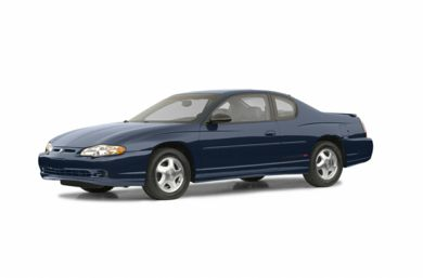 3/4 Front Glamour 2002 Chevrolet Monte Carlo