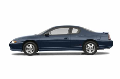 90 Degree Profile 2002 Chevrolet Monte Carlo