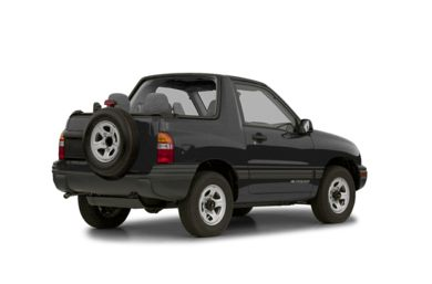 3/4 Rear Glamour  2002 Chevrolet Tracker