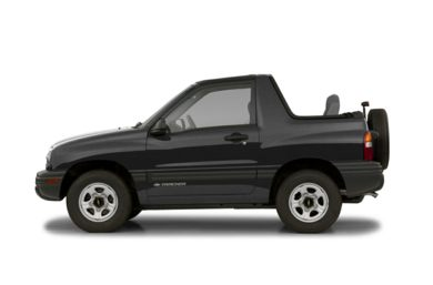 90 Degree Profile 2002 Chevrolet Tracker