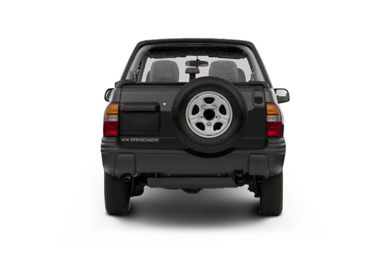 Rear Profile  2002 Chevrolet Tracker