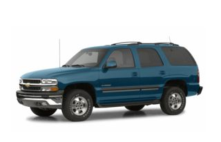 3/4 Front Glamour 2002 Chevrolet Tahoe