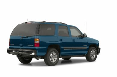 3/4 Rear Glamour  2002 Chevrolet Tahoe