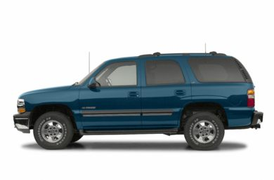 90 Degree Profile 2002 Chevrolet Tahoe