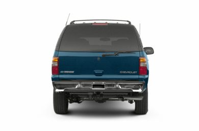 Rear Profile  2002 Chevrolet Tahoe