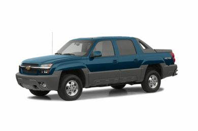 3/4 Front Glamour 2002 Chevrolet Avalanche 2500