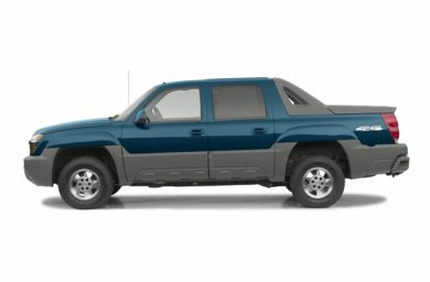90 Degree Profile 2002 Chevrolet Avalanche 2500
