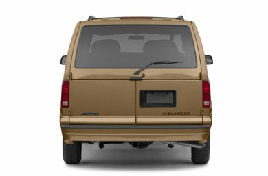 Rear Profile  2002 Chevrolet Astro