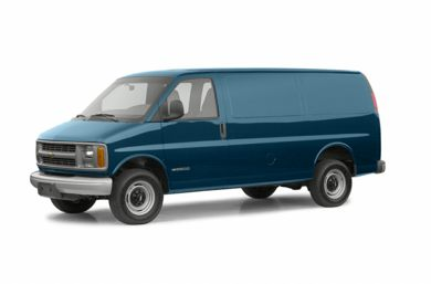 3/4 Front Glamour 2002 Chevrolet Express