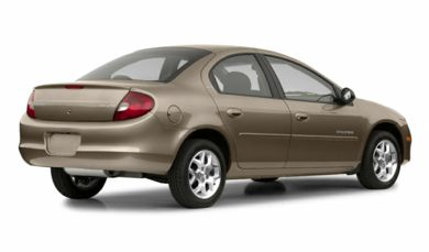 3/4 Rear Glamour  2003 Dodge Neon