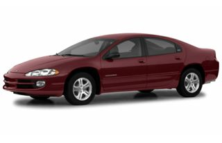 3/4 Front Glamour 2002 Dodge Intrepid