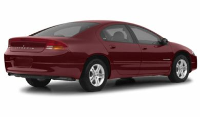 3/4 Rear Glamour  2002 Dodge Intrepid