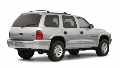 3/4 Rear Glamour  2002 Dodge Durango