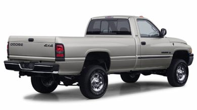 3/4 Rear Glamour  2002 Dodge Ram 2500