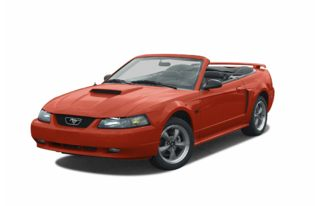 3/4 Front Glamour 2002 Ford Mustang