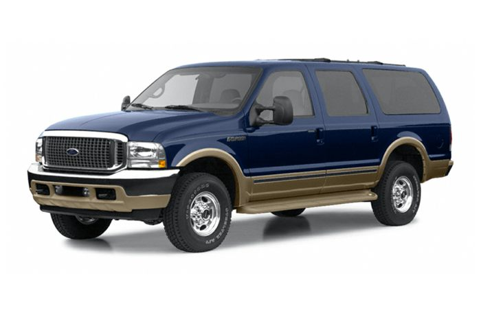 2002 ford excursion specs safety rating mpg carsdirect. Black Bedroom Furniture Sets. Home Design Ideas
