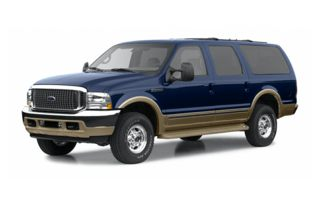 3/4 Front Glamour 2002 Ford Excursion