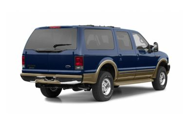 3/4 Rear Glamour  2002 Ford Excursion