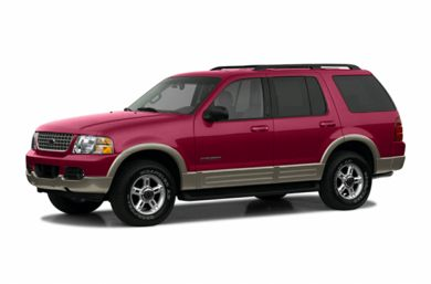 3/4 Front Glamour 2002 Ford Explorer