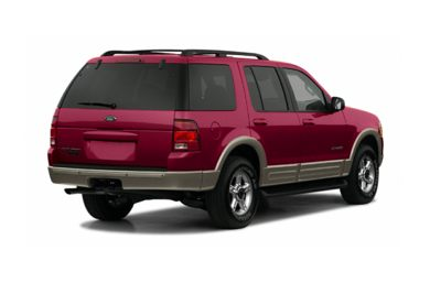 3/4 Rear Glamour  2002 Ford Explorer