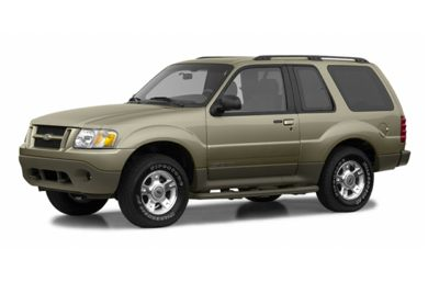 3/4 Front Glamour 2002 Ford Explorer Sport