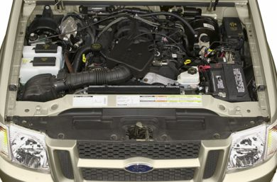 Engine Bay  2002 Ford Explorer Sport