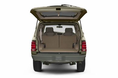 Trunk/Cargo Area/Pickup Box 2002 Ford Explorer Sport