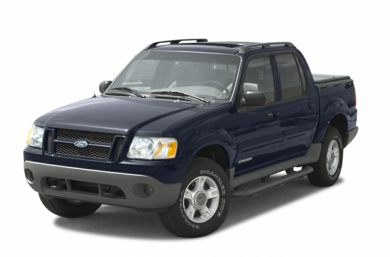 3/4 Front Glamour 2002 Ford Explorer Sport Trac