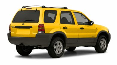 3/4 Rear Glamour  2002 Ford Escape