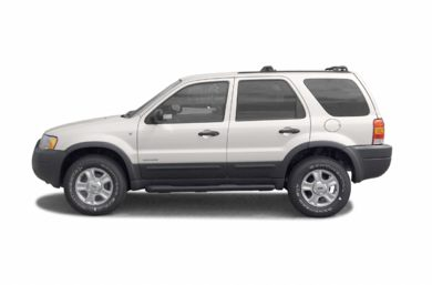 90 Degree Profile 2002 Ford Escape
