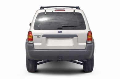 Rear Profile  2002 Ford Escape