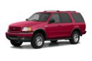 3/4 Front Glamour 2002 Ford Expedition