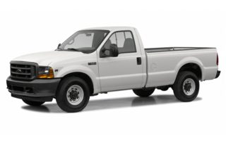 3/4 Front Glamour 2002 Ford F-250