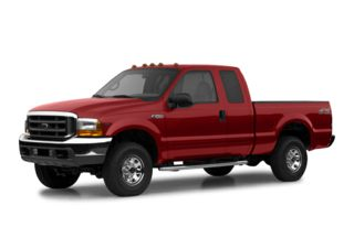 3/4 Front Glamour 2002 Ford F-350
