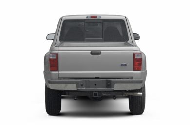 Rear Profile  2002 Ford Ranger