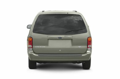 Rear Profile  2002 Ford Windstar