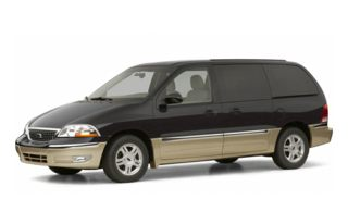 3/4 Front Glamour 2002 Ford Windstar