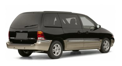 3/4 Rear Glamour  2002 Ford Windstar