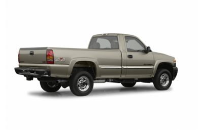 3/4 Rear Glamour  2002 GMC Sierra 2500HD