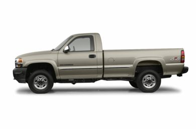 90 Degree Profile 2002 GMC Sierra 2500HD