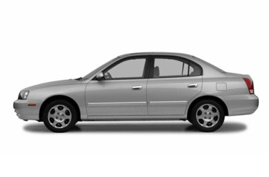 90 Degree Profile 2002 Hyundai Elantra