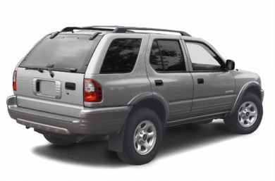 3/4 Rear Glamour  2002 Isuzu Rodeo
