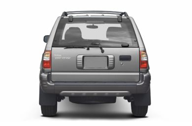 Rear Profile  2002 Isuzu Rodeo