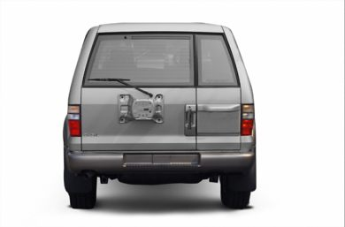 Rear Profile  2002 Isuzu Trooper