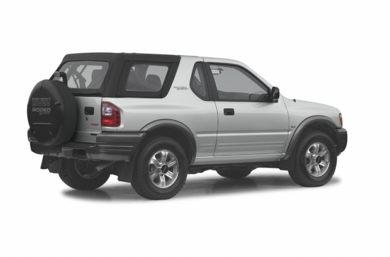 3/4 Rear Glamour  2002 Isuzu Rodeo Sport
