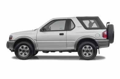 90 Degree Profile 2002 Isuzu Rodeo Sport